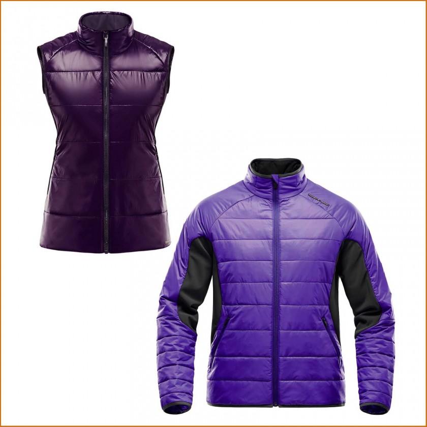 Insulation Vest Women u. Insulation Jacket Men 2015 von Porsche Design Sport