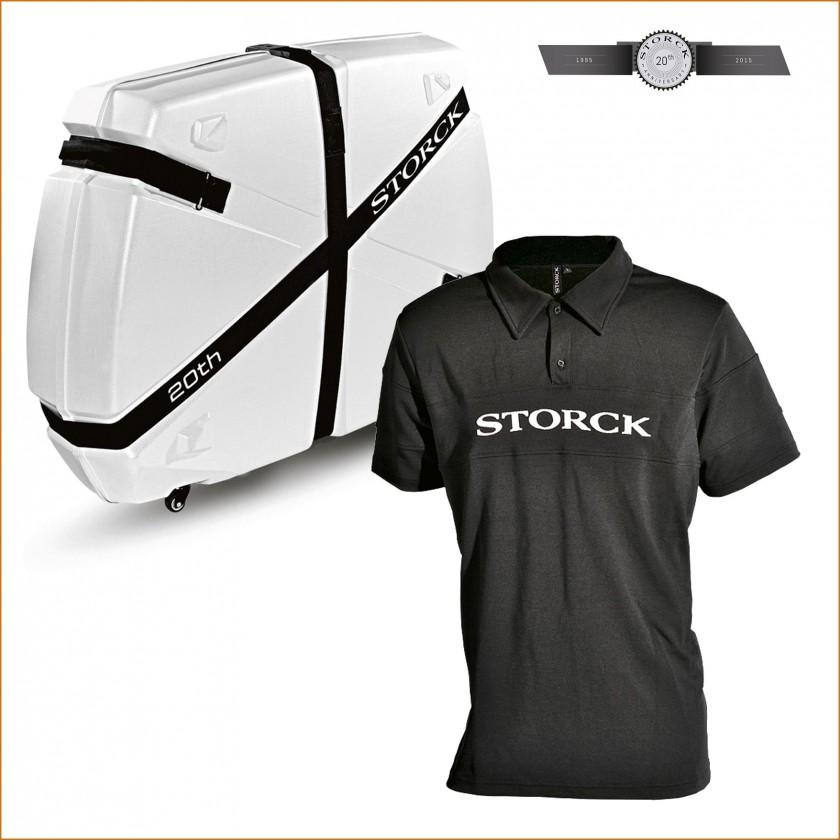 Radkoffer bike.guard curv u. 20th Anni Retro Storck Polo 2015 von Storck Bicycle