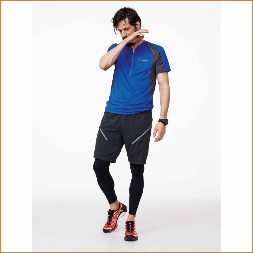 Balkka Zip Tee, Lavvu Tights u. Leap Long Shorts Men 2015 von Peak Performance