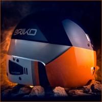 VULCANO 6.8 Skihelm mit Protetto Technologie Rckansicht 2014/15 von BRIKO