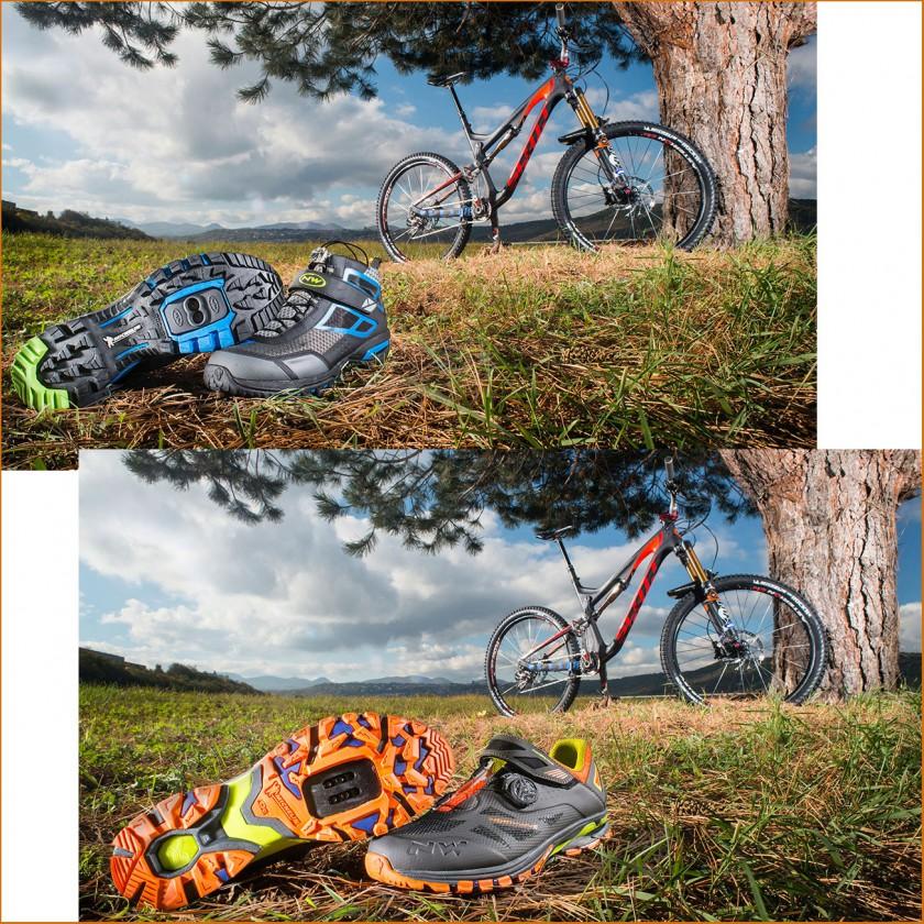 DOLOMITES EVO u. SPIDER PLUS 2 MTB-Fahrradschuhe mit Michelin Außensohle 2015 von Northwave