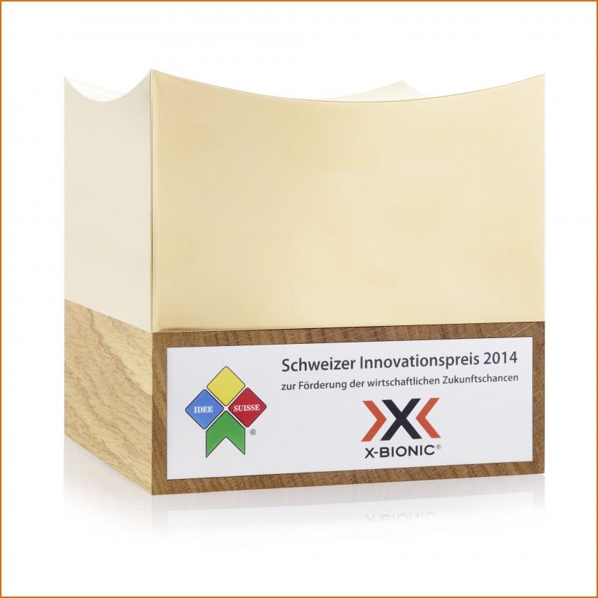 X-Bionic gewinnt Schweizer Innovationspreis 2014 zur Förderung der wirtschaftlichen Zukunftschancen