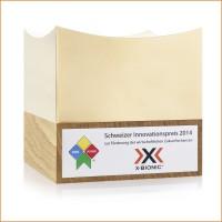 X-Bionic gewinnt Schweizer Innovationspreis 2014 zur Frderung der wirtschaftlichen Zukunftschancen