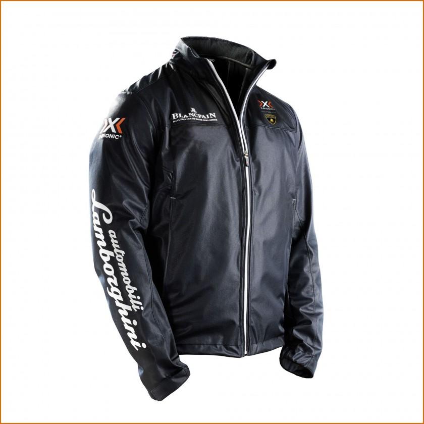 X-BIONIC For Automobili Lamborghini Super Trofeo Official Pilot Jacket front 2014