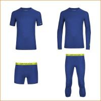 105 MERINO ULTRA Baselayer: Small u. Long Sleeve, Boxer u. Small Pants strong-blue Men 2015/16 von Ortovox