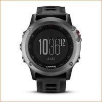fenix 3 GPS-Multisport-/ Multifunktionsuhr front grau 2015 von Garmin