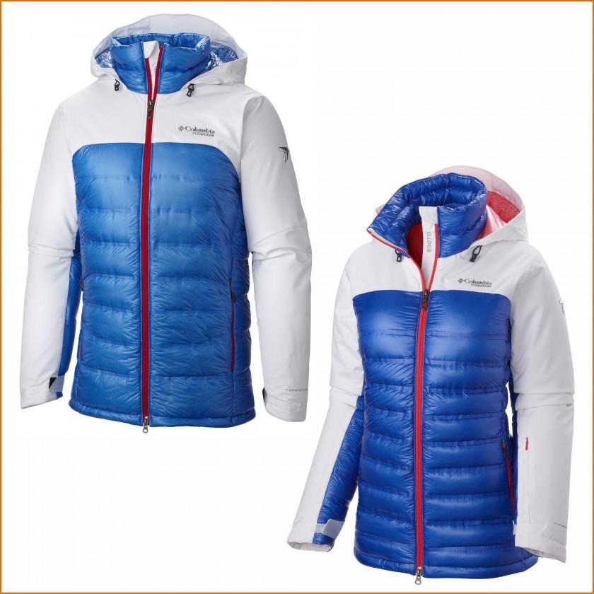 Titanium Heatzone 1000 TurboDown Jacket Herren u. Frauen 2015/16 von Columbia