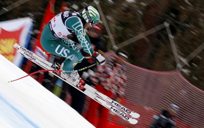 Bode Miller mit Skier von HEAD