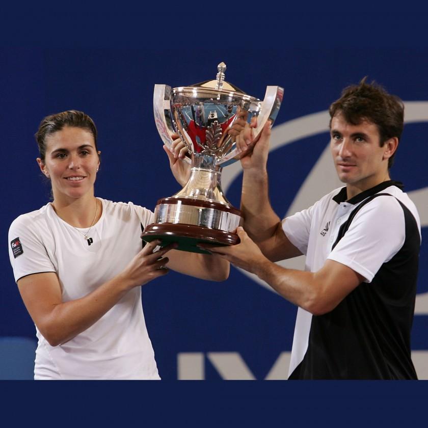 Tommy Robredo und Maria Jose Martinez Sanchez gewinnen 2010 fr Spanien den Hopman Cup