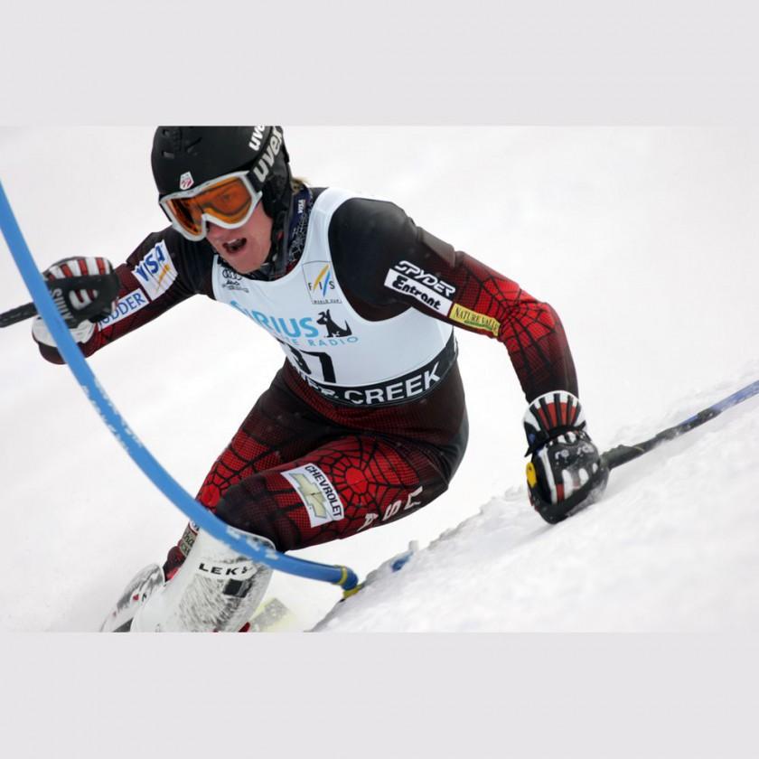 Eschler Materialien werden u.a. eingesetzt in Rennanzgen der Firma Spyder beim Ski-Alpin