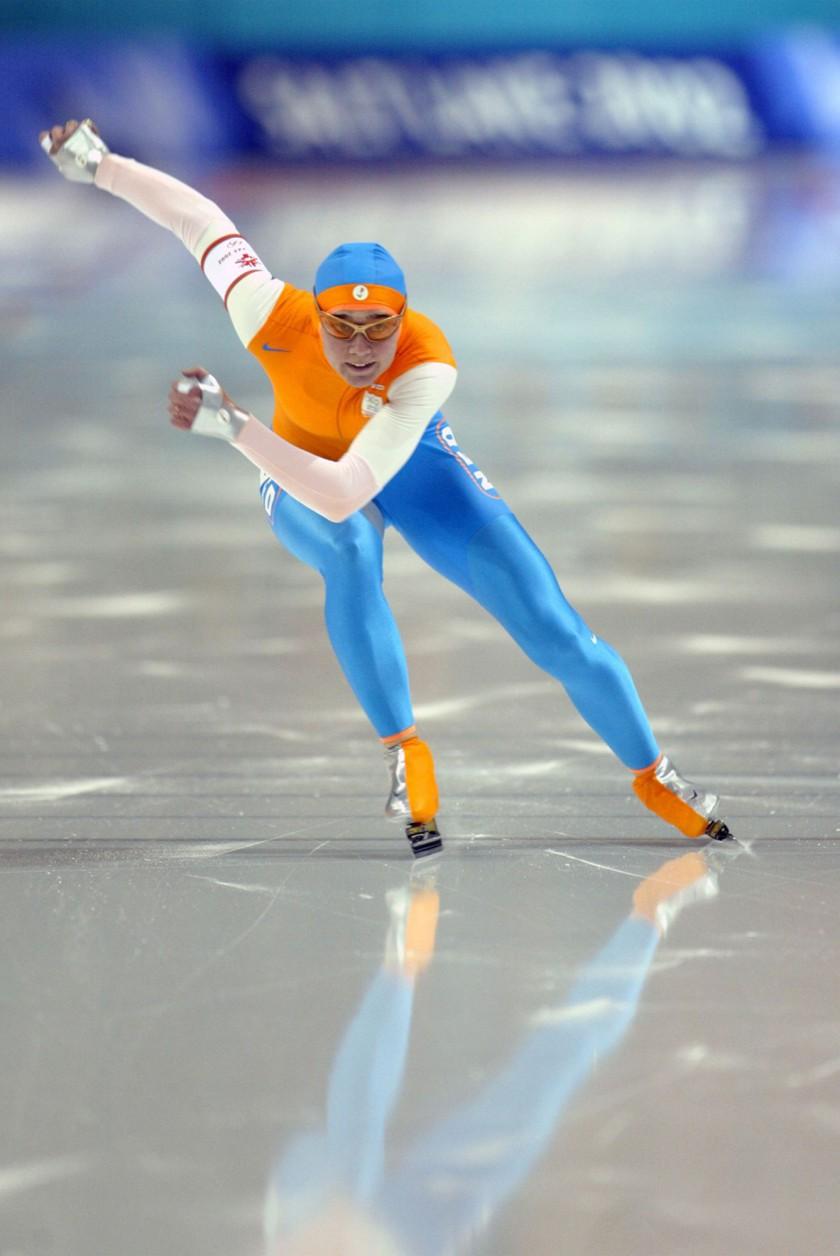 Eschler Materialien werden u.a. eingesetzt in Rennanzgen der Firma Nike beim Eisschnelllauf