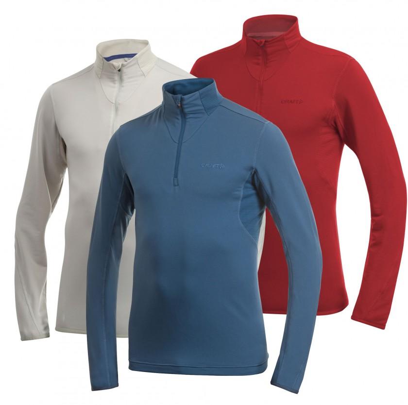 Zip Pullover mit Bodymapping