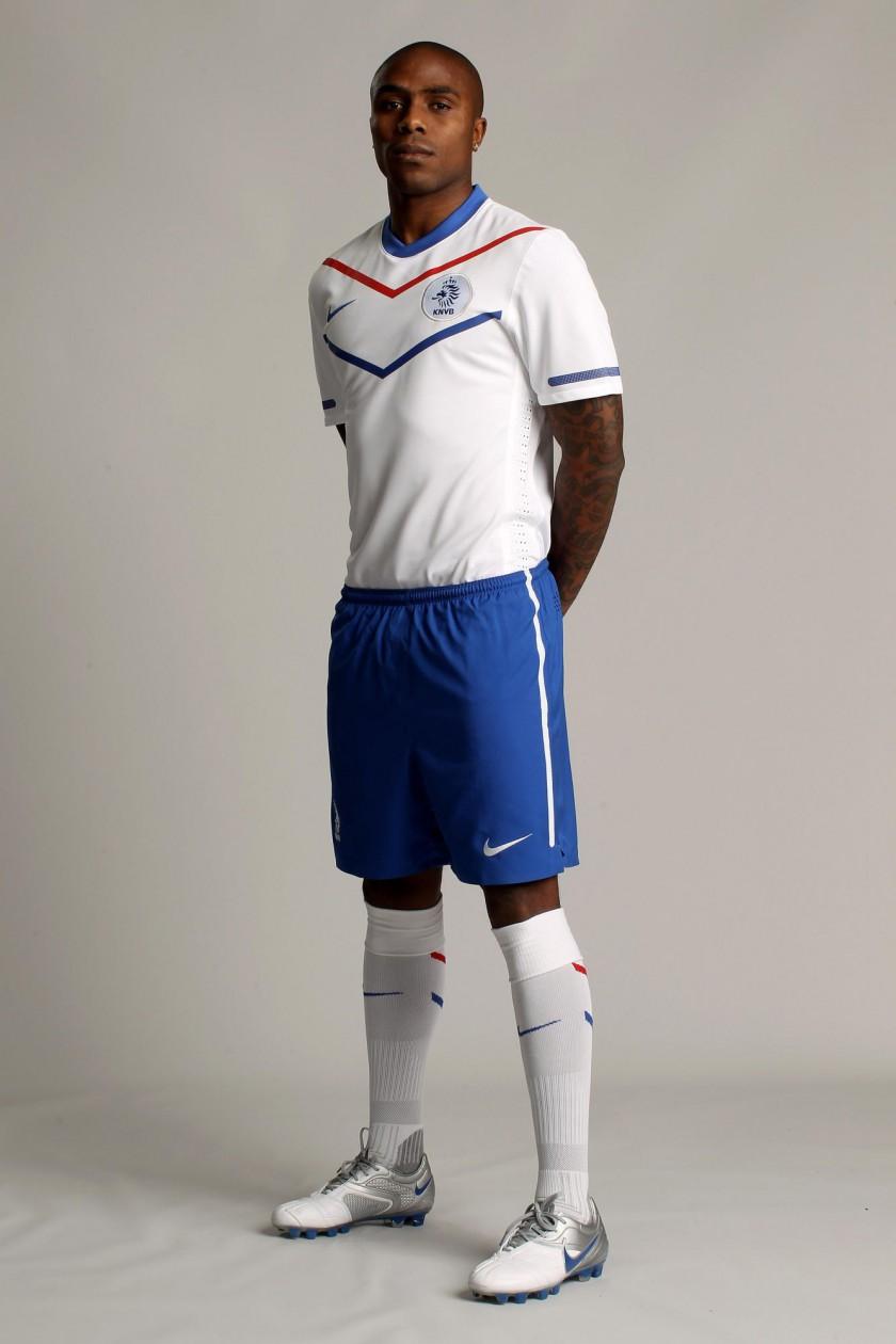 Das neue Nike-Outfit der niederländischen Nationalmannschaft für die WM 2010