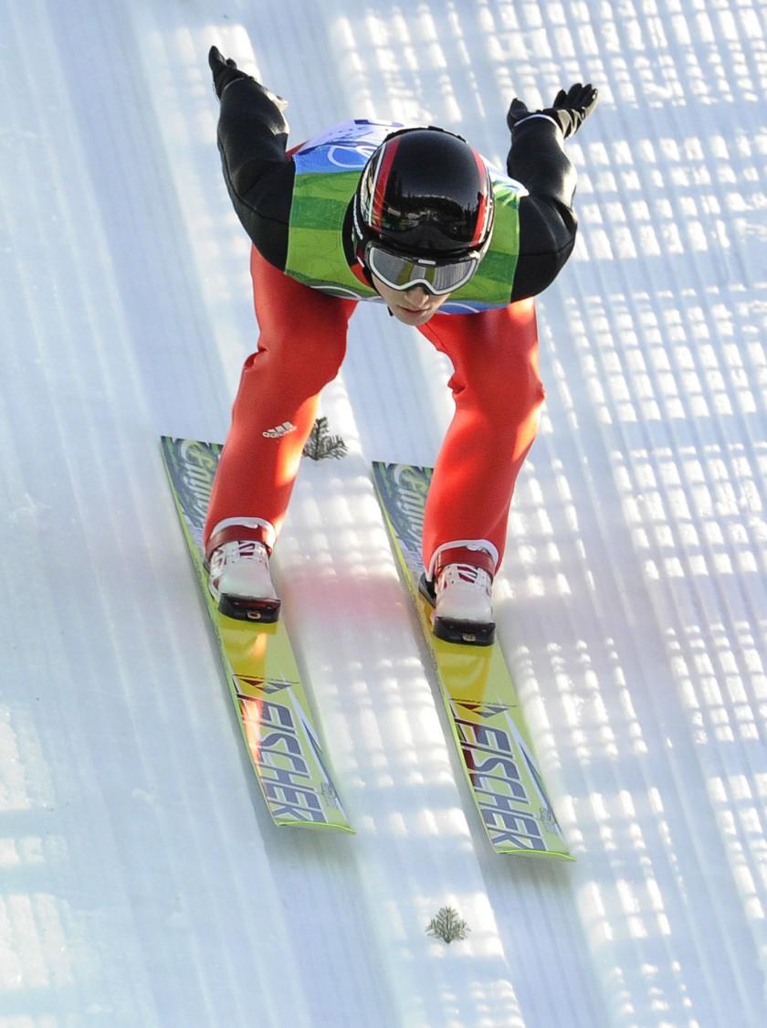 Photo: NordicFocus - Simon Ammann gewinnt 2 Goldmedaillen bei Olympia 2010