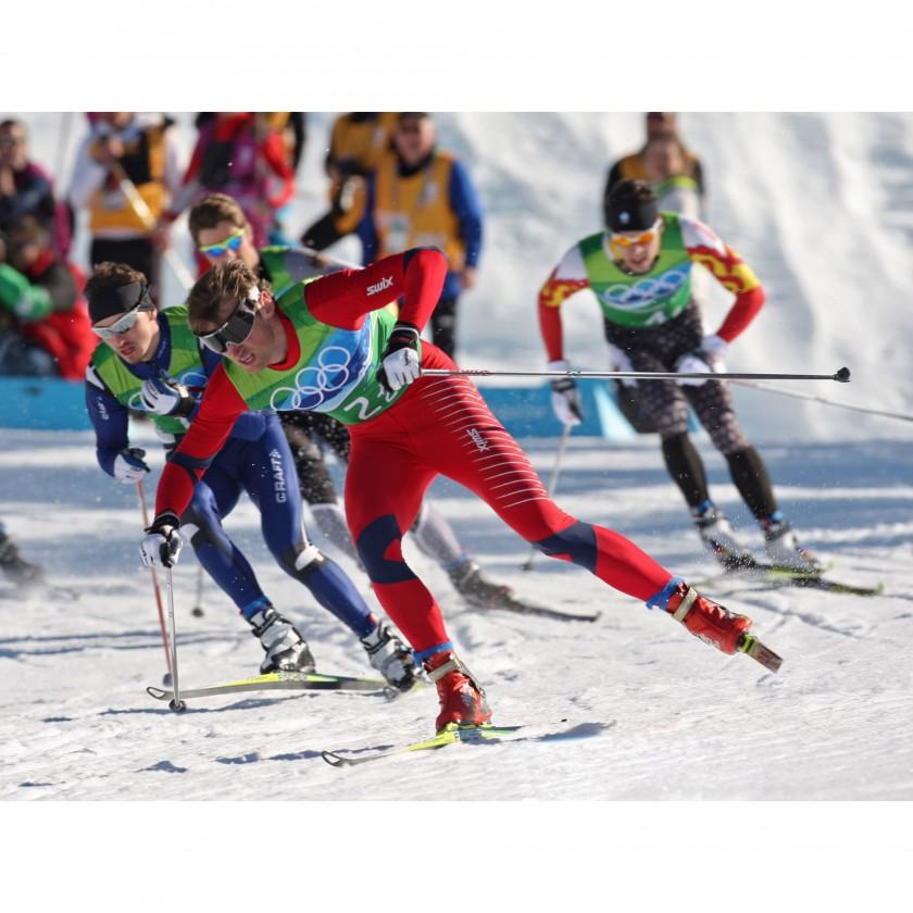 Photo: NordicFocus - Petter Northug gewinnt  2 Goldmedaillen bei Olympia 2010