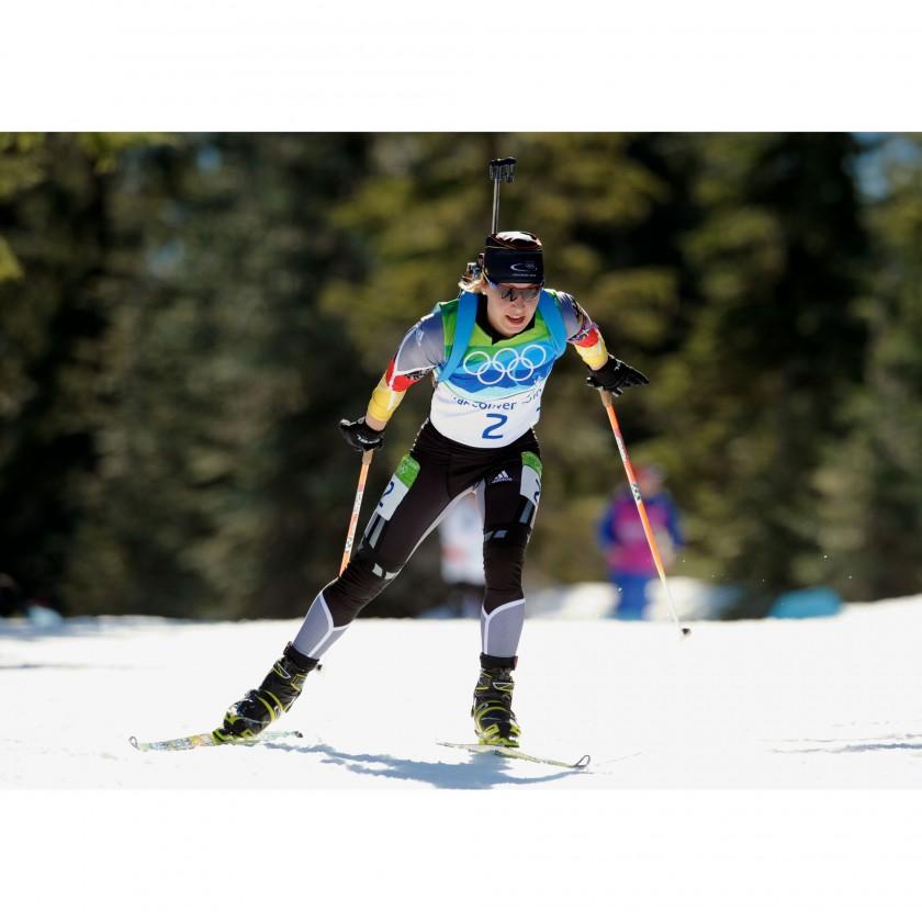 Photo: NordicFocus - Magdalena Neuner gewinnt 2 Goldmedaillen bei Olympia 2010