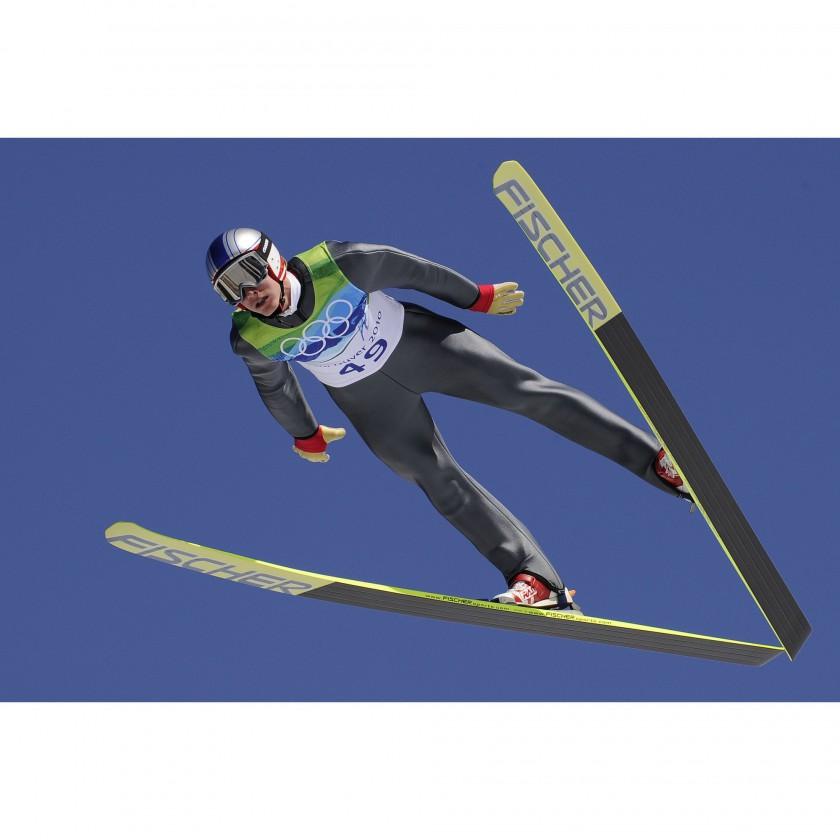 Photo: NordicFocus - Gregor Schlierenzauer im Flug zu einer seiner 3 Medaillen bei Olympia 2010