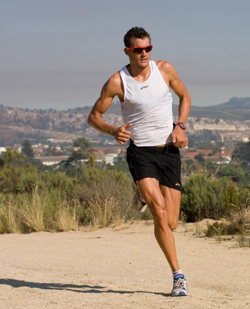 Jan Frodeno beim Laufen