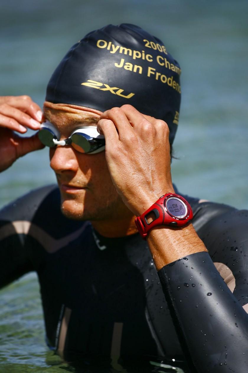 Jan Frodeno im Wasser