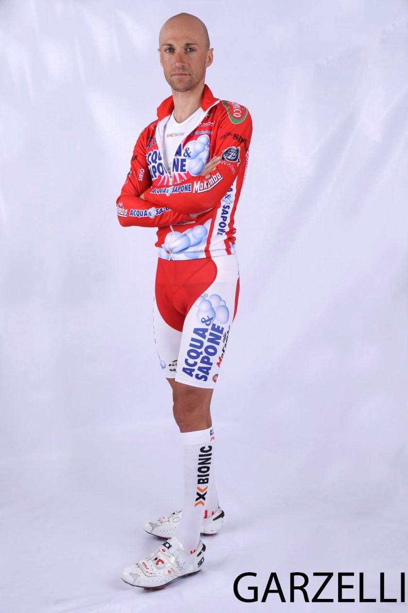 Stefano Garzelli mit X-Bionic Bekleidung