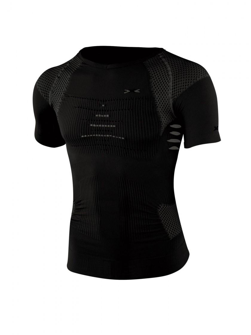 Trekking Shirt Short Sleeves - schwarz