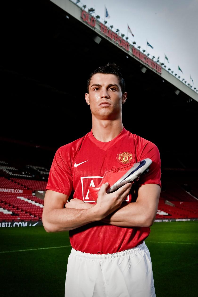 Cristiano Ronaldo mit dem Mercurial Vapor Superfly