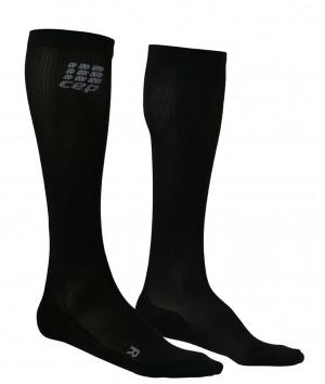walking O2 compression sportsocks - black