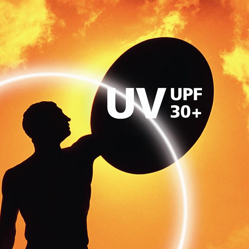 coldblack - Zuverlssiger Schutz vor UV-Strahlung minimum UPF 30