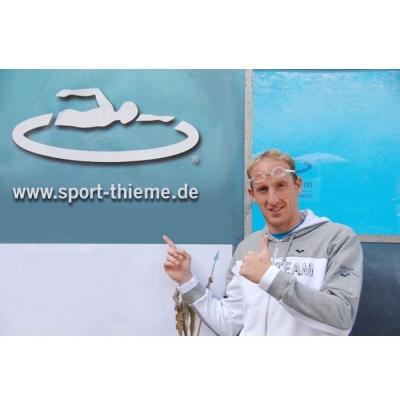 Thomas Lurz schwimmt Weltrekord im LD-Pool Gegenstrombecken