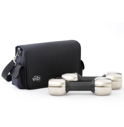 Vibrationshanteln erlauben effektives und mobiles Training - Spezielle Taschen ermglichen komfortablen Transport