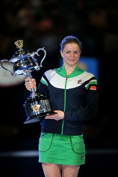 Kim Clijsters gewinnt Australian Open in FILA