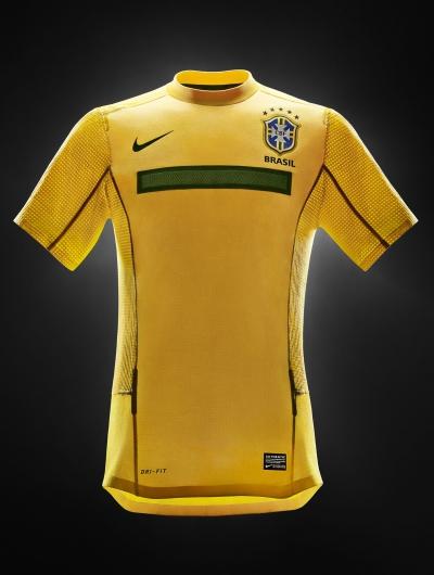 Nike prsentiert das neue Trikot der brasilianischen Selecao