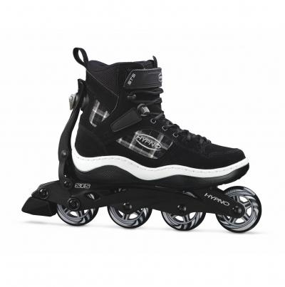 Ein Schuh: drei Mglichkeiten - Der Avenue von Hypno ist Inline Skate, moderner Freizeitschuh und Schlittschuh zugleich
