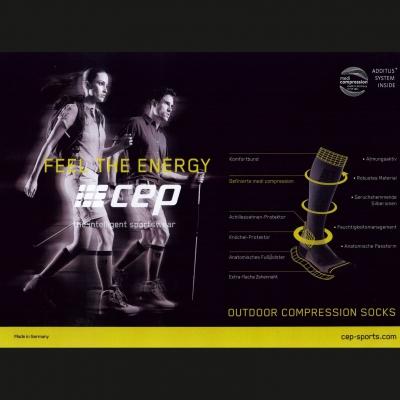 So hoch die Füße tragen: outdoor compression socks - zuverlässige Begleiter in Höhen und Tiefen