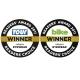 Oakley gewinnt beide Reader's Award von Delius Klasing in der Kategorie 'Brillen'