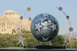 adidas prsentiert im UEFA Champions League Finale den Finale Athens