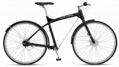 Das avantgardistische Style-Bike VIVA Wire macht Lust auf  Rad-Törns in Großstadtschluchten