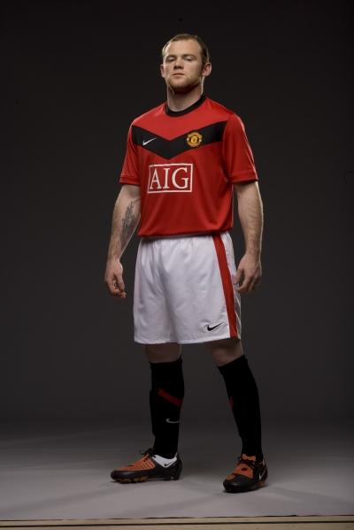 Neues Manchester United  Trikot fr die Saison 2009/2010 von Nike
