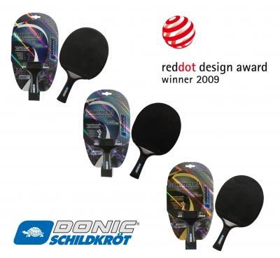 Donic Schildkröt CarboTec erhält Designpreis red dot 2009
