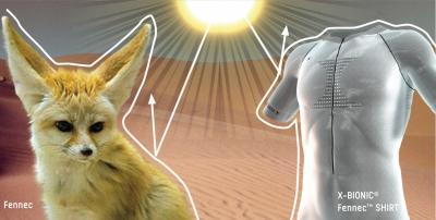 X-Bionic Fennec Polo Shirt mit OutDoor Industry Award 2009 ausgezeichnet