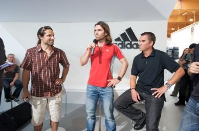 OutDoor 2009: adidas prsentiert TERREX und SUPERTREKKING