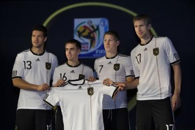 adidas und DFB prsentieren das neue WM-Trikot