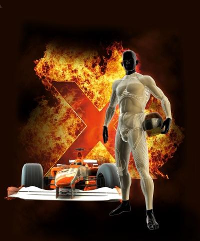 X-BIONIC FireShield: Cool bleiben bei ber 400 C