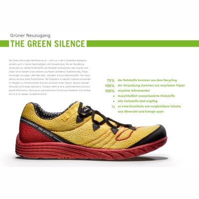Für die Laufgeneration von morgen - BROOKS Green Silence