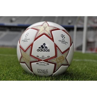 adidas prsentiert neuen Spielball fr das UEFA Champions League Finale: den Finale Madrid