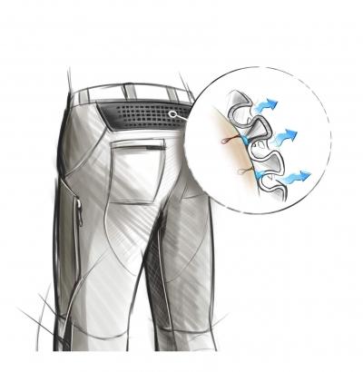 X-BIONIC Trekking Ultimate Pants mit Input von 55.000 outdoor Lesern
